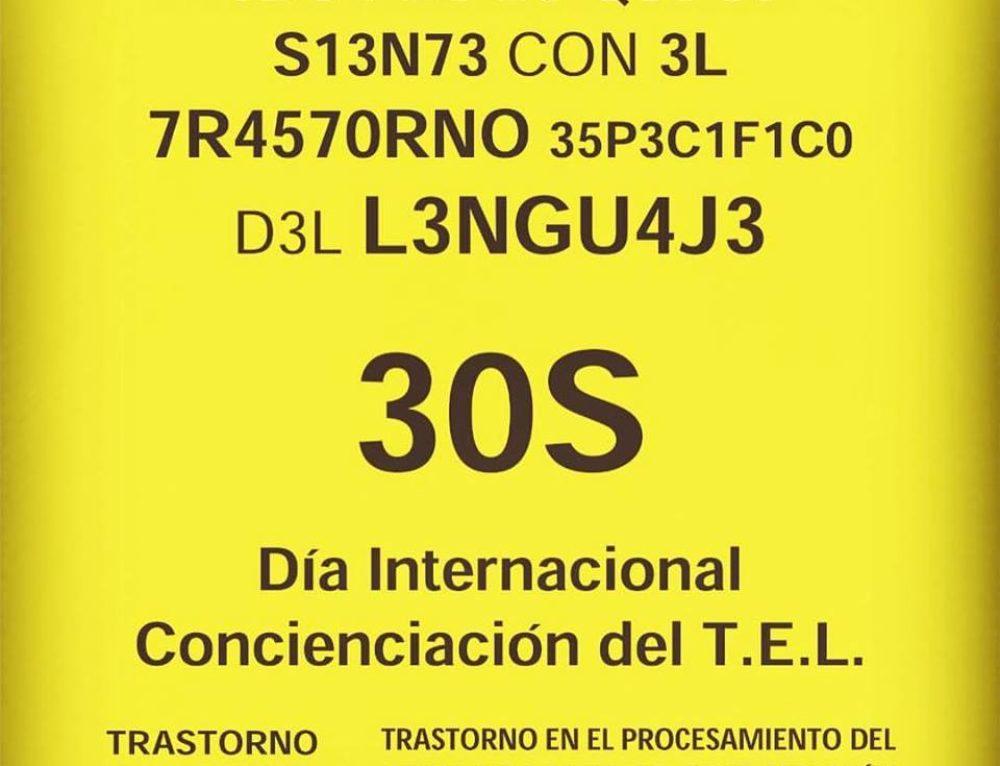 30S Día internacional del TEL